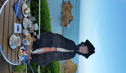 Poldark with Cream Tea and Ice Cream