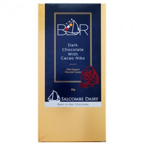 Dark Chocolate With Cacao Nibs