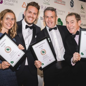 Salcombe Dairy wins 5 Food & Drink Devon Awards