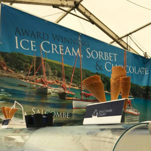 Salcombe Dairy at Pub in The Park